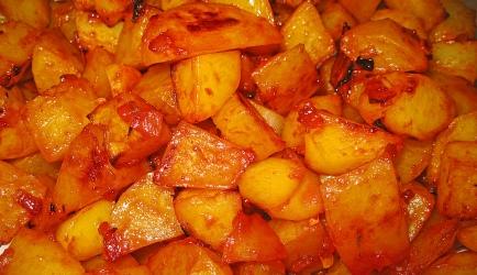 Gebakken aardappels gekaramelliseerd met honing recept ...