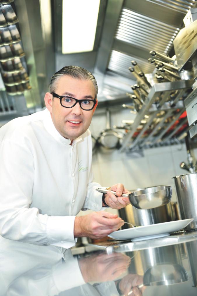Recept 'gegrilde kreeft  hof van cleve style'