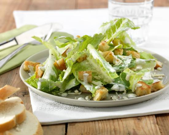 Caesarsalade met brood recept