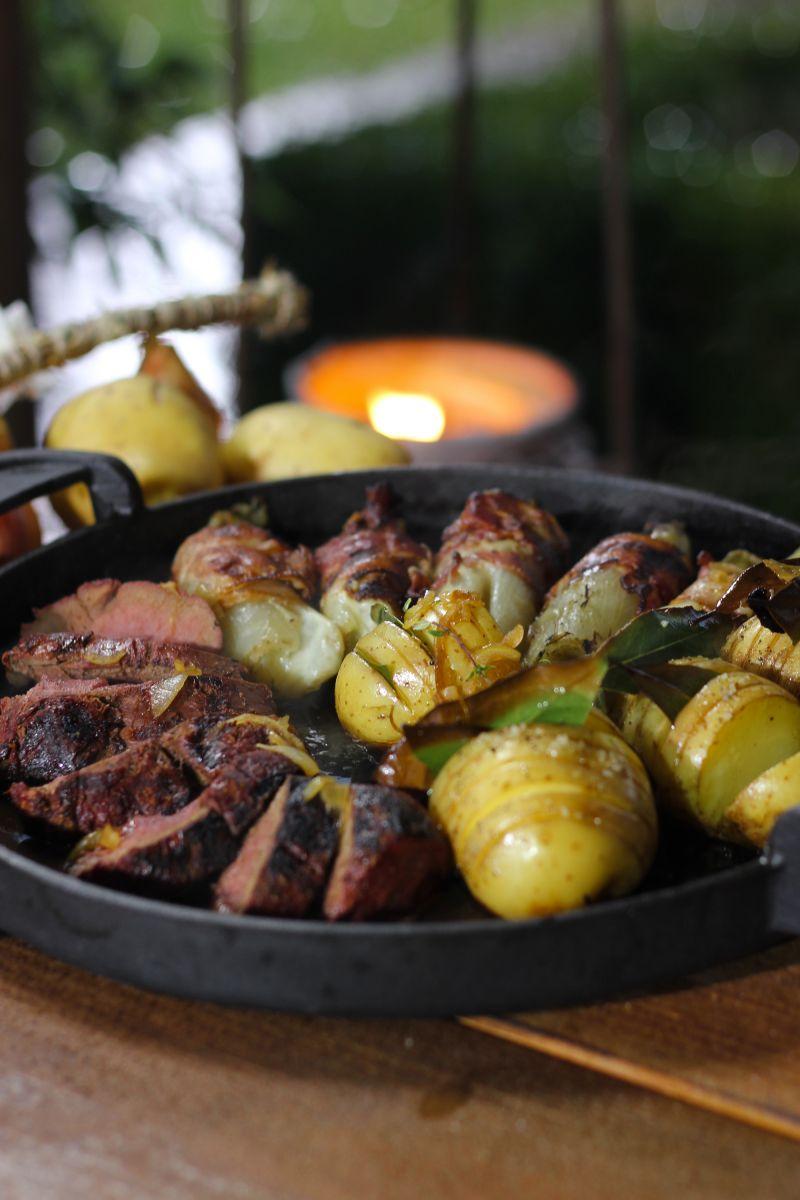 Recept 'hertengebraad met witloof'