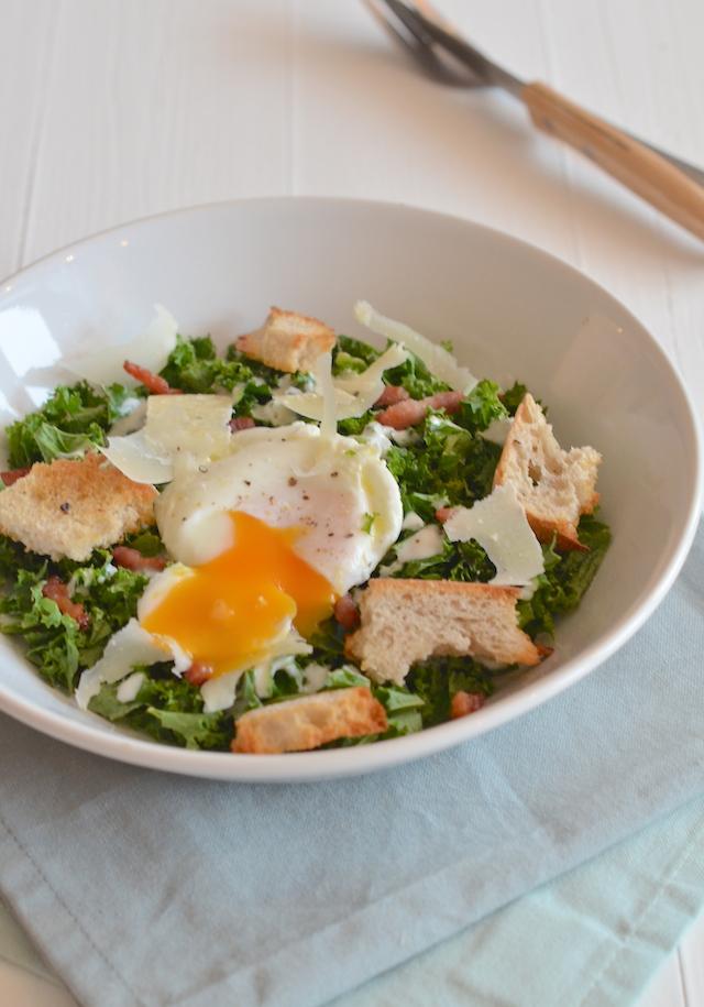 Fresh & easy: caesar salade van boerenkool