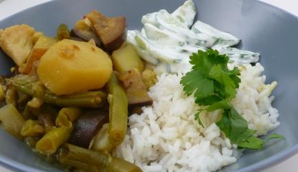 Bhaji van gemengde groenten recept