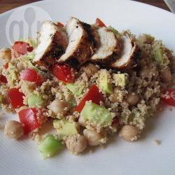Couscoussalade met kip recept
