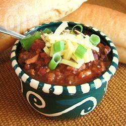 Slowcooker chili con carne recept