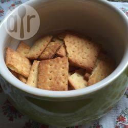 Glutenvrije kaascrackers recept