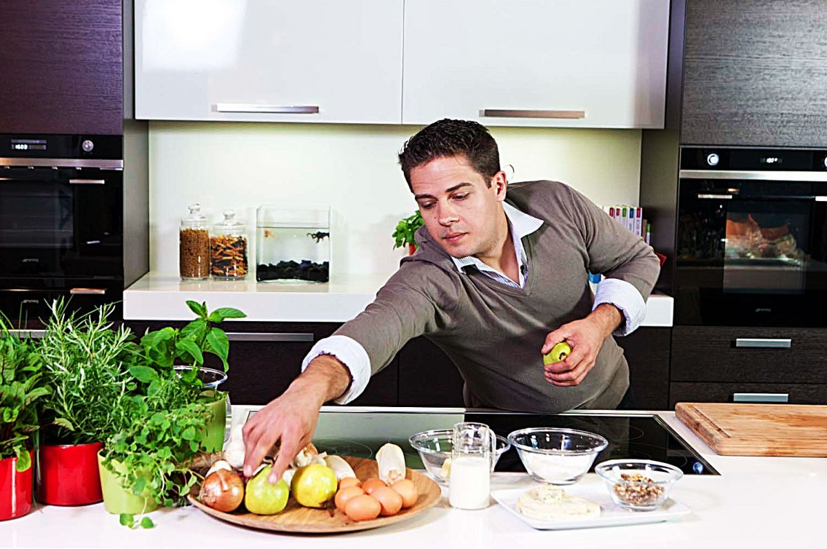 Recept 'gebakken pompoenpolenta met paddenstoelen en jus van ...