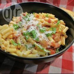 Spaghetti amatriciana recept