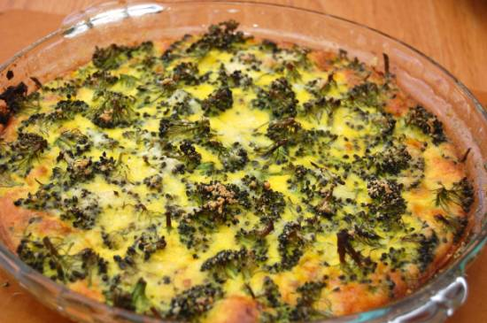 Ovenschotel romige, kazige, kruidige broccoli recept