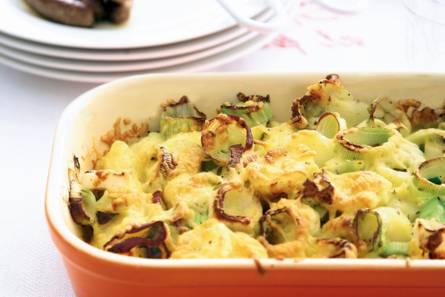 Snelle aardappel-preischotel