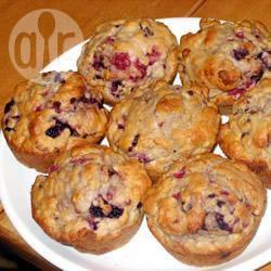 Frambozenmuffins met kardamom recept