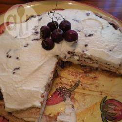 Amandel-chocolade pavlova recept