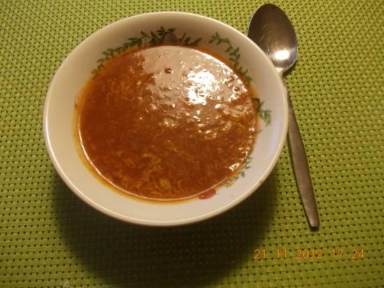 Pittige zoetzure chinese tomatensoep met losgeklopt ei recept ...