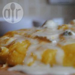 Polenta en blauwe kaas recept