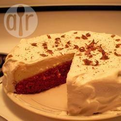Red velvet cheesecake recept