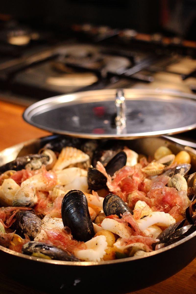 Recept 'stoofpotje van noordzeevis'