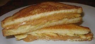 Elvis` peanut butter and banana sandwich recept