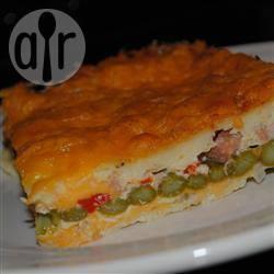 Ovenschotel met cheddar, bacon en asperges recept