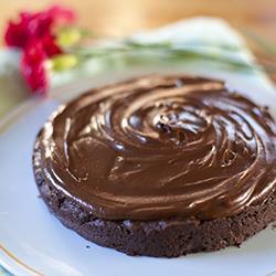 Eenvoudige chocoladecake zonder meel recept