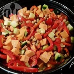Marokkaanse stoofschotel met groenten recept
