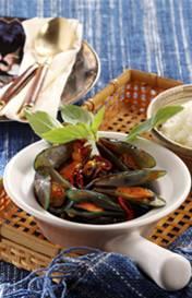 Thaise mosselen recept