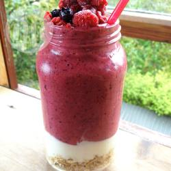 Ontbijt smoothie ideeën recept