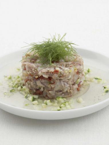 Recept 'cheviche van tonijn en sint-jakobsvruchten met venkel en ...