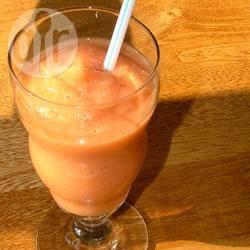 Aardbei-sinaasappelsmoothie recept