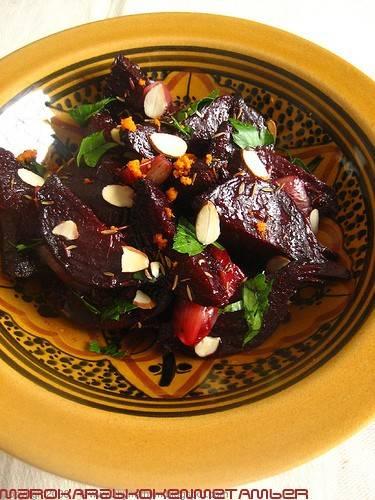 Geroosterde rodebieten salade recept