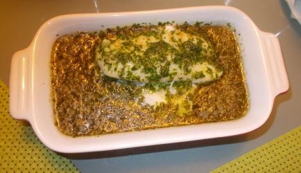 Zachtgegaarde kabeljauw met citroen en peterselie recept ...