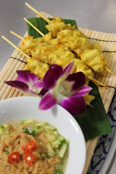 Recept 'thaise kipsaté'