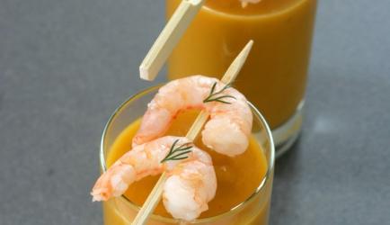 Bisque de crevettes recept