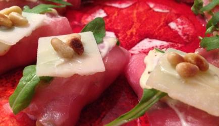 Carpaccio amuses met truffelmayonaise recept