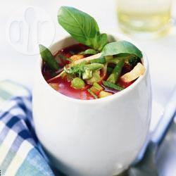 Paradijselijke groentesoep recept