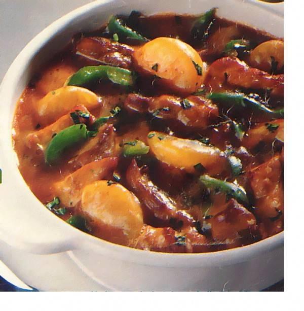 recept met hamlappen en rijst