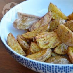 Gebakken aardappeltjes uit de airfryer recept