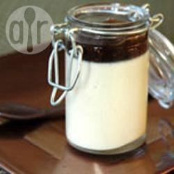 Verrine met panna cotta van eendenlever recept
