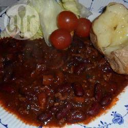 Gemakkelijke pittige chili con carne recept