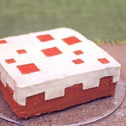 Minecraft taart recept