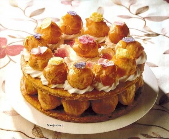 Torta di bignè  soesjes taart recept