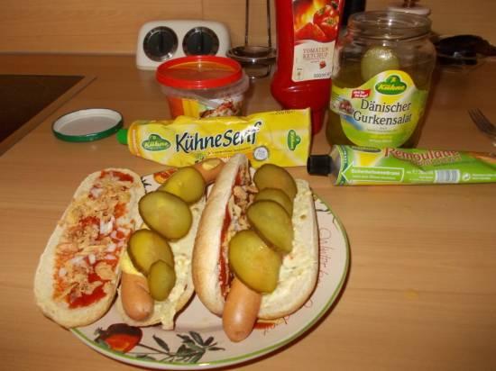 Hotdog uit denemarken ( polser ) recept