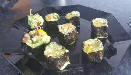 Sushi  koolhydraatarm recept