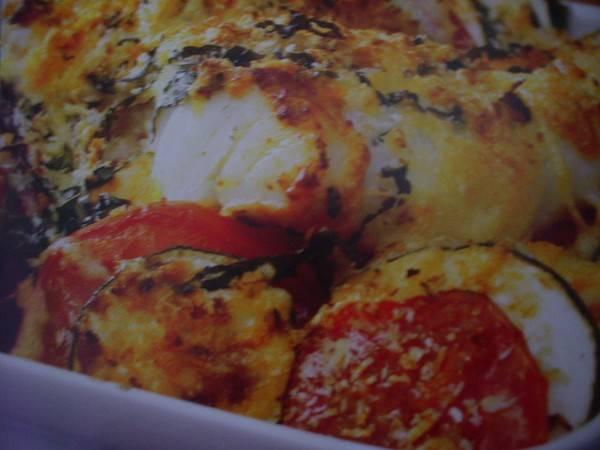 Kabeljauw uit de oven met tomatenpesto recept