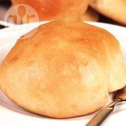 Bolletjes uit de broodmachine recept