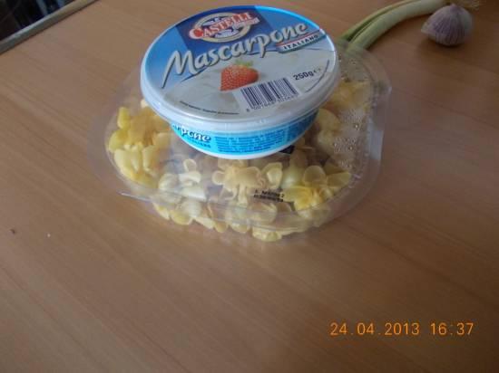Romige pasta met gerookte kipfilet, mascarpone en rucola recept ...