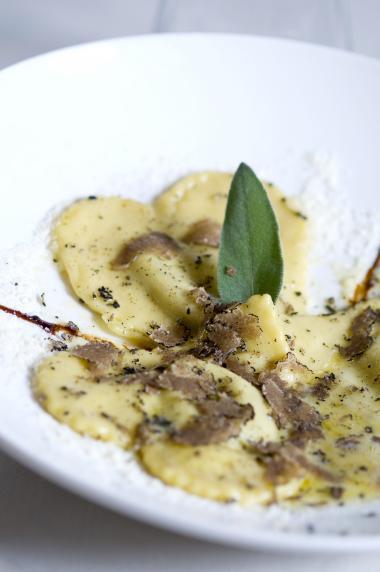 Recept 'ravioli met salieboter en porcini'