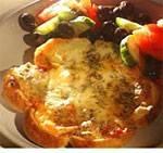 Turkse broodpizza met ham en kaas recept