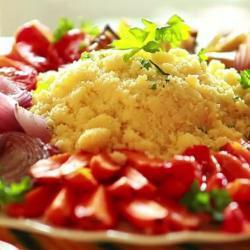 Couscous met geroosterde groenten recept