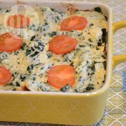Spinazie lasagne recept