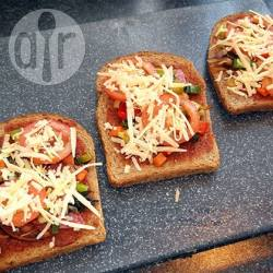 Pizzaboterham recept