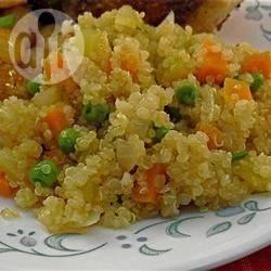 Quinoa pilaf recept